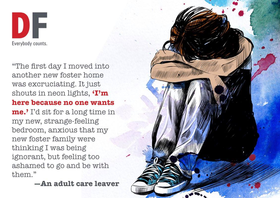 Foster care children have worries and concerns for which they need support and understanding