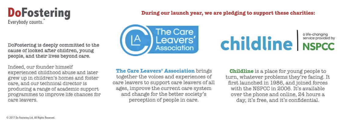 Do Fostering supports The Care Leavers Association and NSPCC's Childline